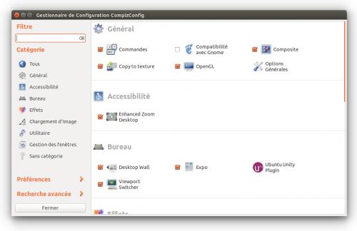 Compizconfig settings manager documentation ubuntu for Gestionnaire de fenetre