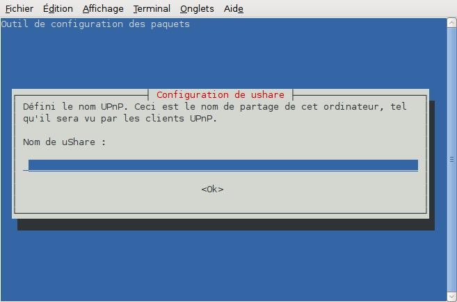 ushare [Wiki ubuntu-fr]