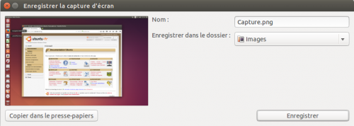 Capture d ecran wiki ubuntu fr for Photo ecran ubuntu