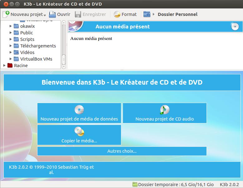 k3b en francais