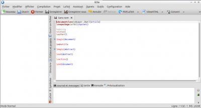 install kile latex ubuntu