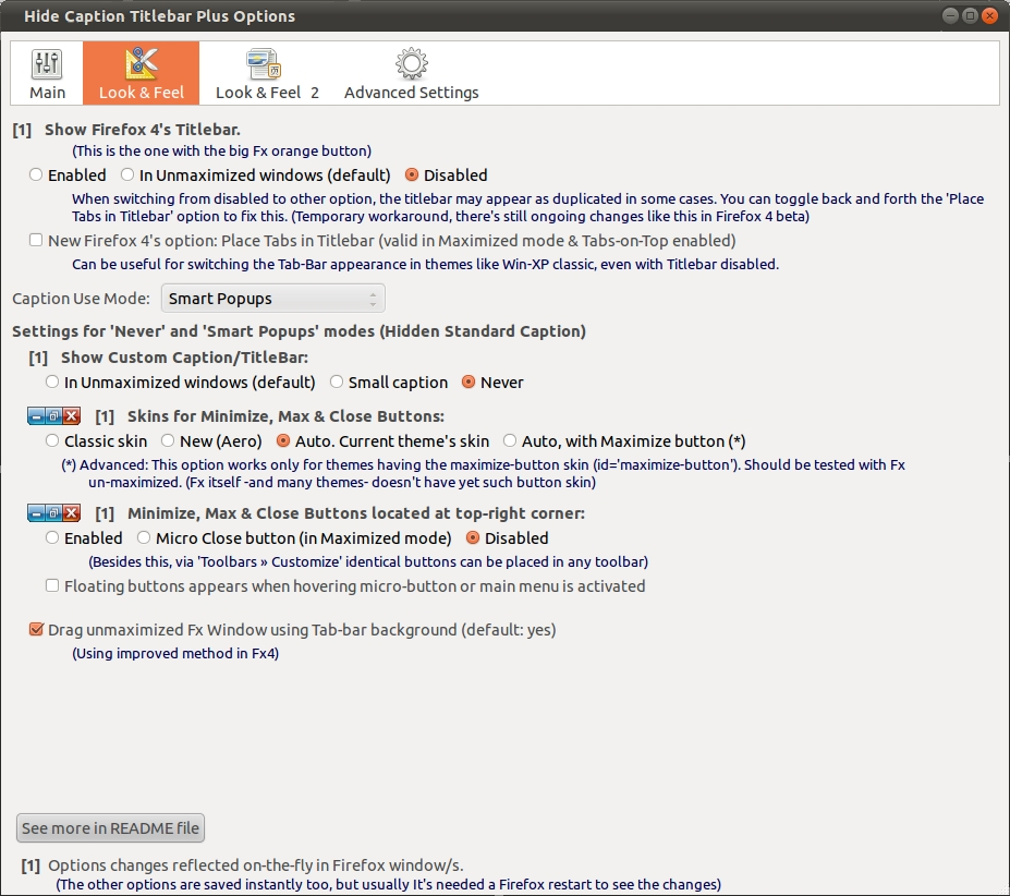 Firefox documentation ubuntu francophone for Decoration fenetre compiz