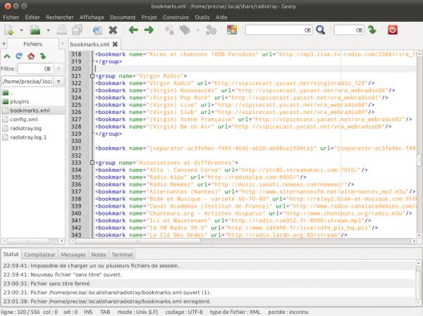 Geany Documentation Ubuntu Francophone