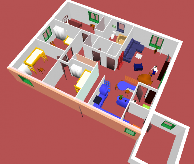 Sweethome3d documentation ubuntu francophone for Plan interieur maison en d