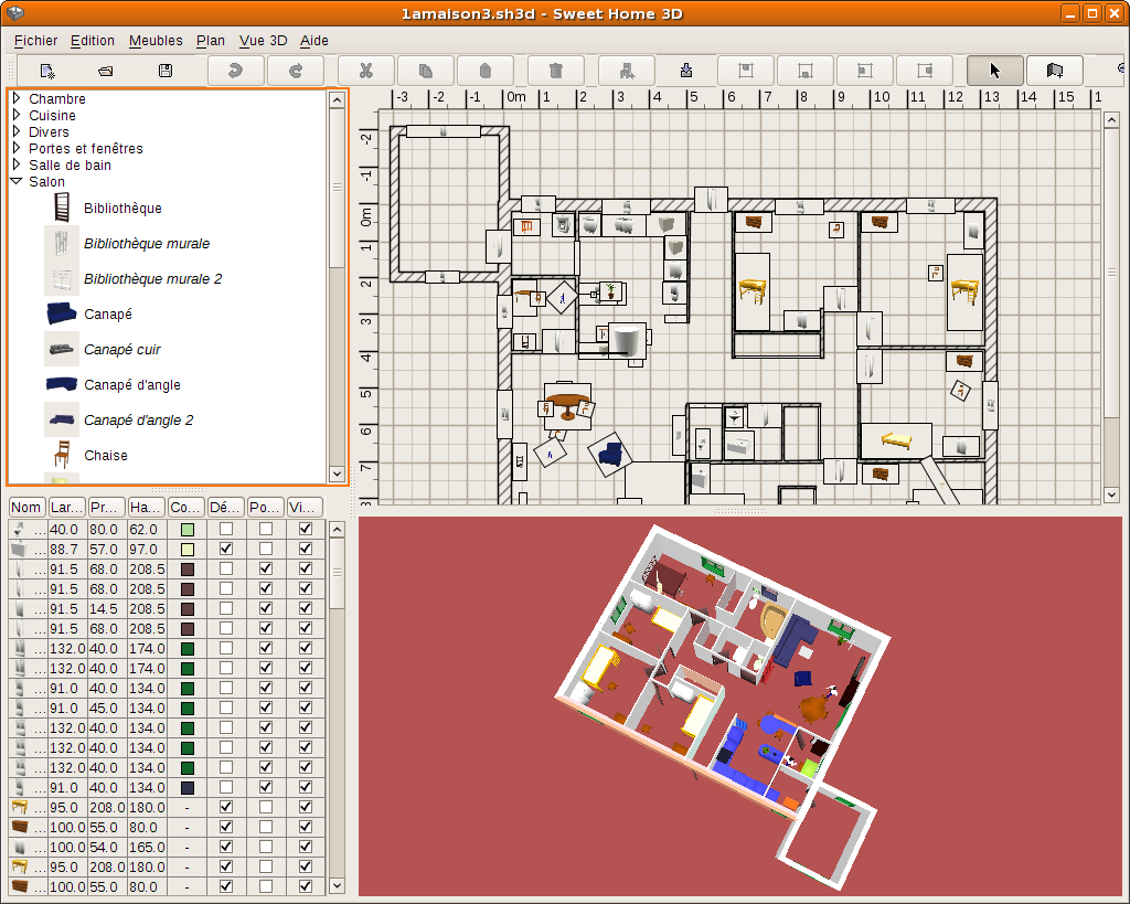 Sweethome3d wiki ubuntu fr for Logiciel plan maison sweet home 3d