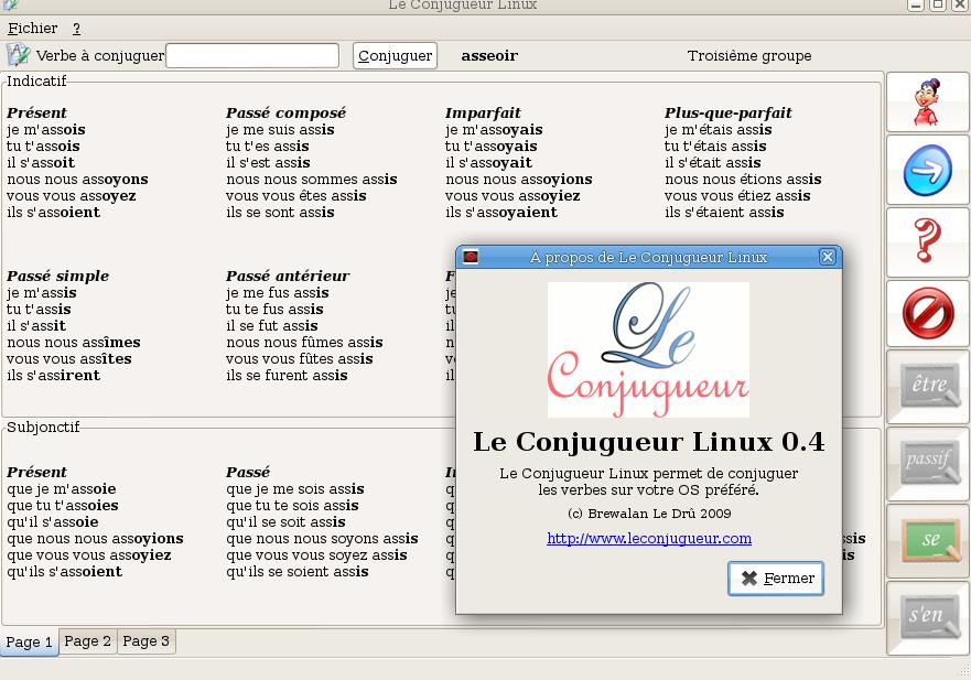 Le Conjugueur Linux Wiki Ubuntu Fr
