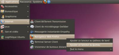 Raccourci Lanceur Wiki Ubuntu Fr