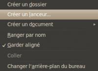 Raccourci lanceur wiki ubuntu fr - Comment mettre sur le bureau un raccourci ...