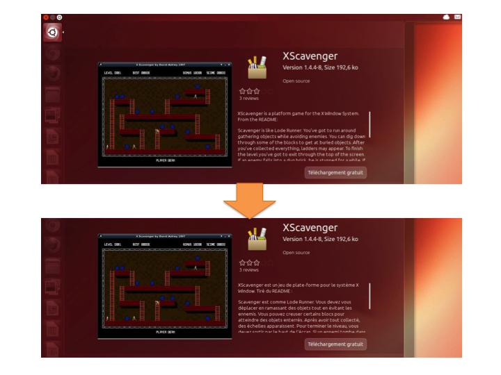 XScavenger avant…et après