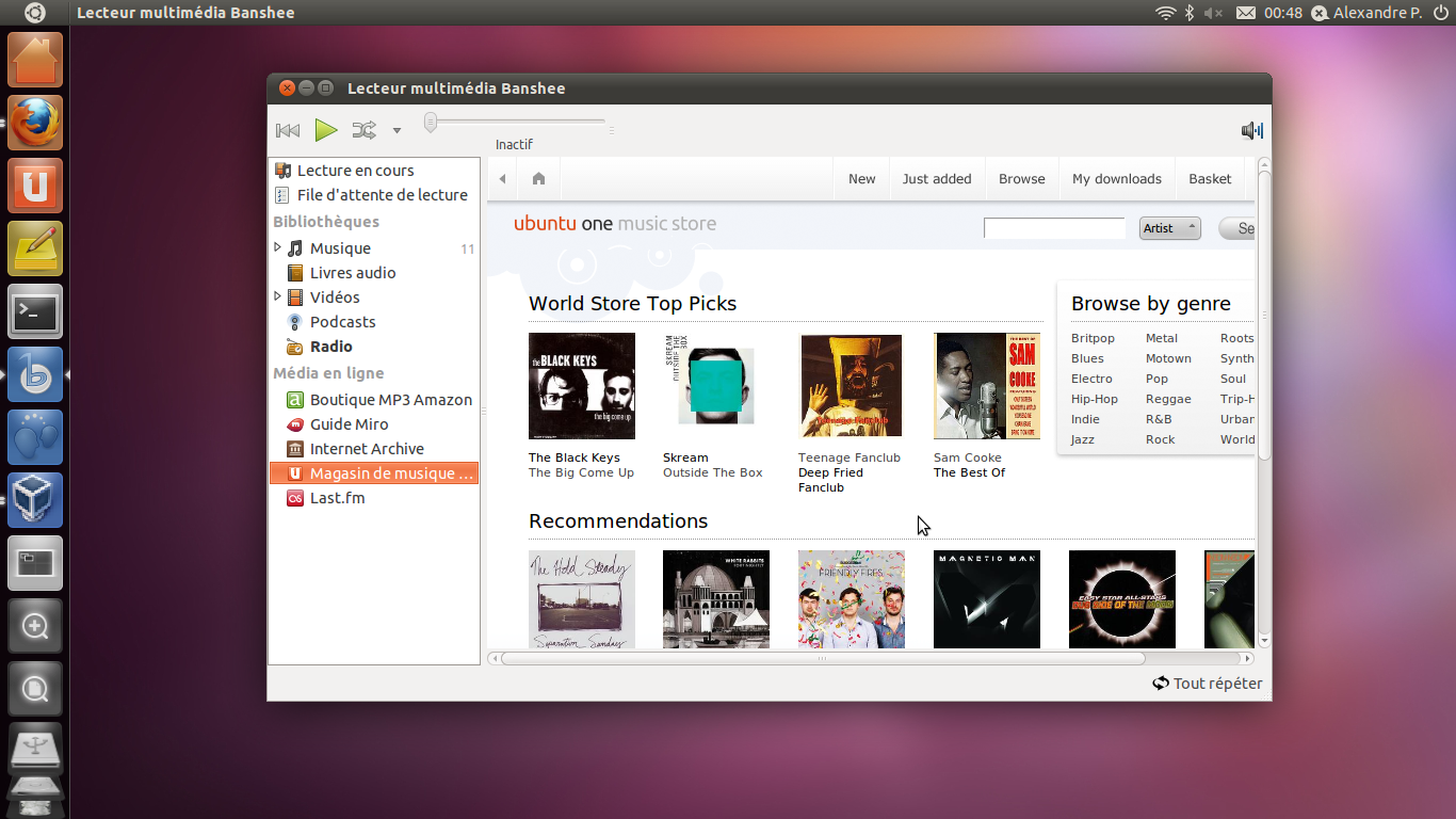 Bureaux Ubuntu : Ubuntu débarque avec unity sa nouvelle interface
