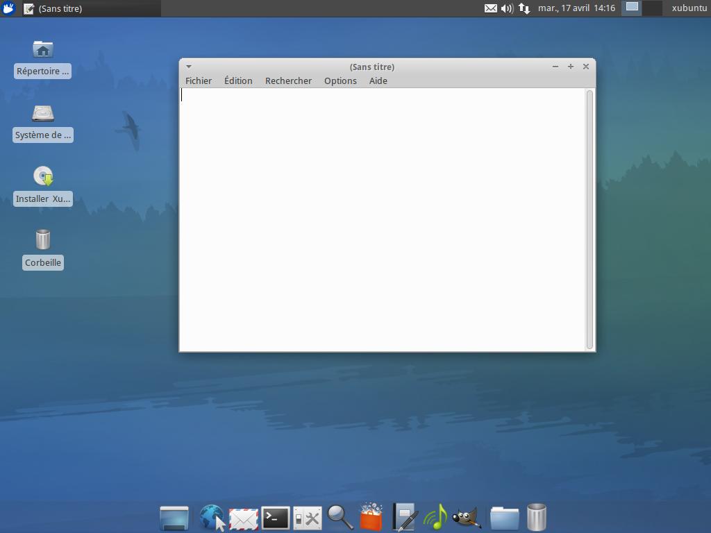 Xubuntu linux v distributions gnu linux logiciels