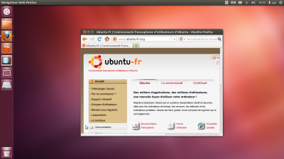 Unity documentation ubuntu francophone - Environnement bureau linux ...